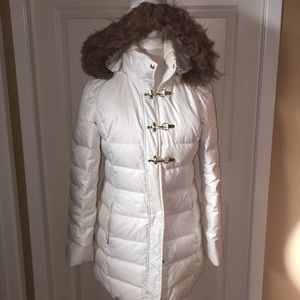 GUESS SNOW WINTER HOODED COAT